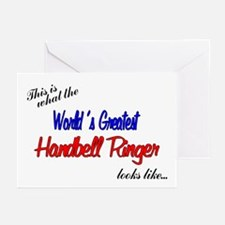 World's Greatest Ringer Greeting Cards (Pk of 10)