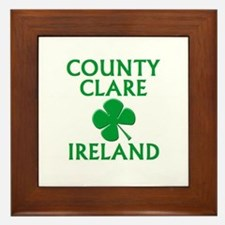 County Clare, Ireland Framed Tile