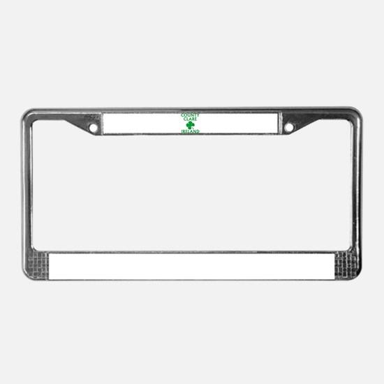 County Clare, Ireland License Plate Frame