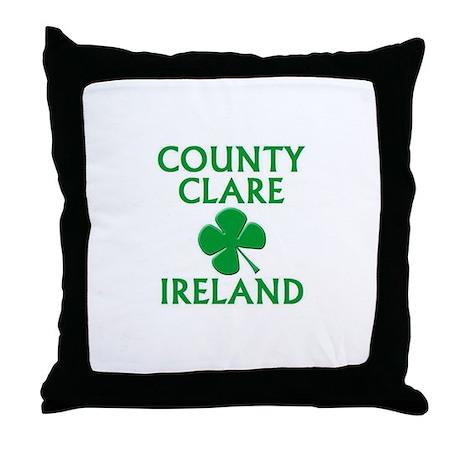 County Clare, Ireland Throw Pillow