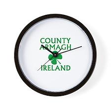 County Armagh, Ireland Wall Clock