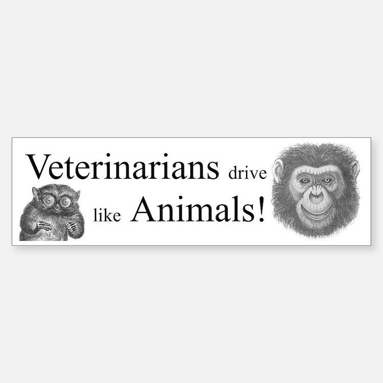 Veterinary bumper sticker