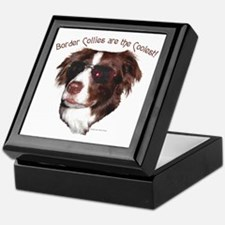 Border Collie Cool! Keepsake Box