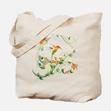 Hummingbird Morning Tote Bag