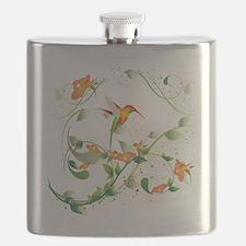 Hummingbird Morning Flask