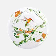 "Hummingbird Morning 3.5"" Button"