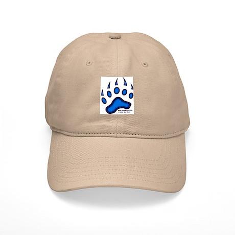 Blue Glow Bear Paw Cap
