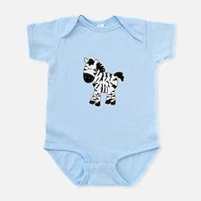 Zebra Standing Up Body Suit