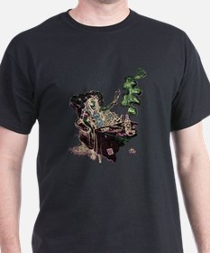 Alice Drinks Absinthe Now T-Shirt