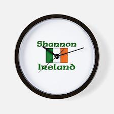 Shannon, Ireland Wall Clock