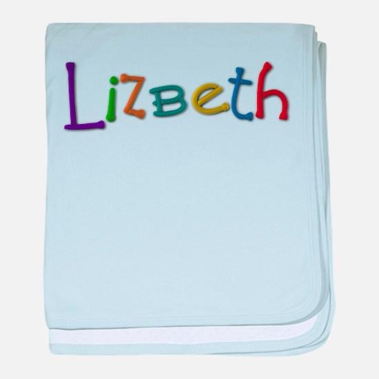 Lizbeth Play Clay baby blanket