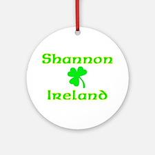 Shannon, Ireland Ornament (Round)