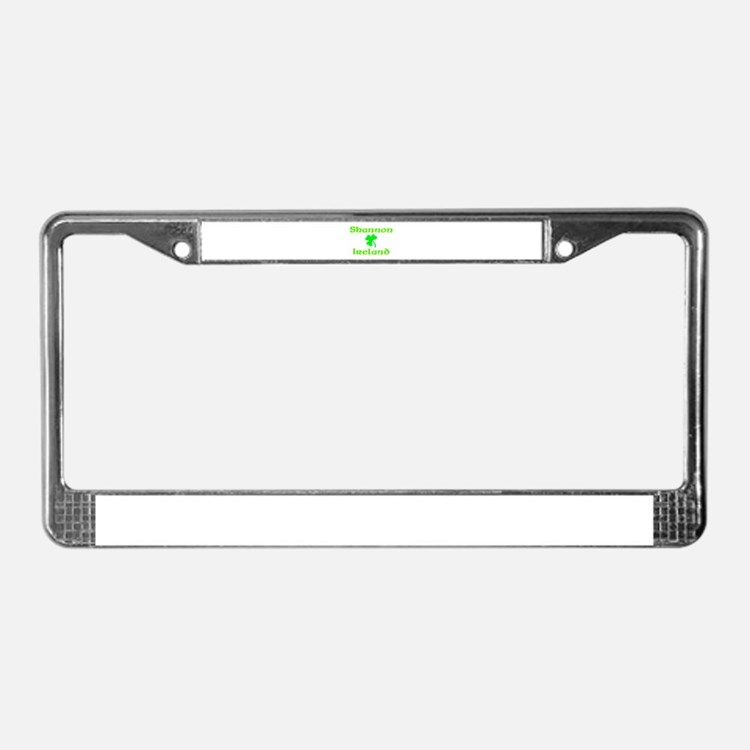 Shannon, Ireland License Plate Frame