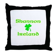 Shannon, Ireland Throw Pillow