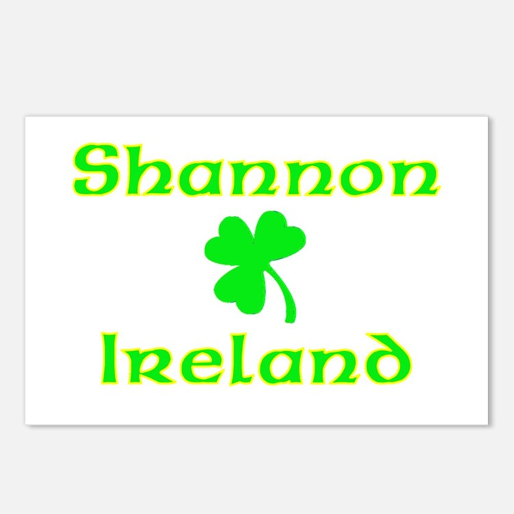 Shannon, Ireland Postcards (Package of 8)
