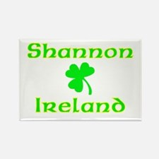 Shannon, Ireland Rectangle Magnet
