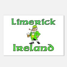 Limerick, Ireland Postcards (Package of 8)