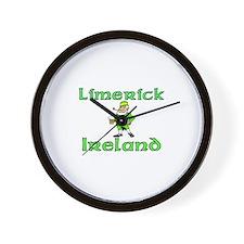Limerick, Ireland Wall Clock