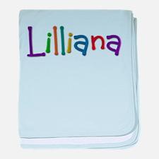 Lilliana Play Clay baby blanket