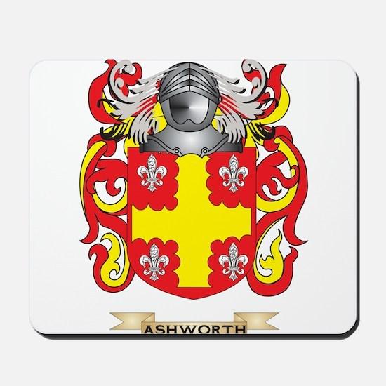 Ashworth Coat of Arms Mousepad