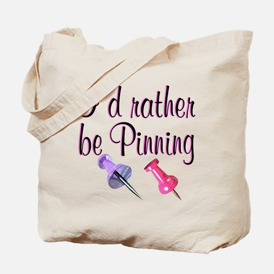 PINNING QUEEN Tote Bag