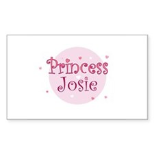 Josie Rectangle Decal
