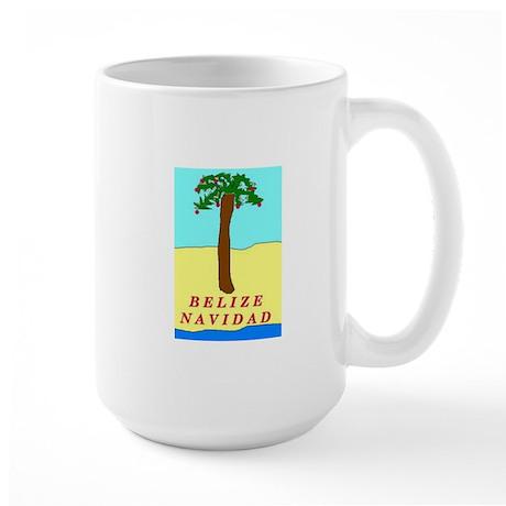 Belize Navidad Large Mug
