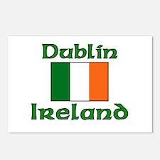 Dublin, Ireland Postcards (Package of 8)