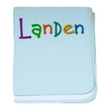 Landen Play Clay baby blanket