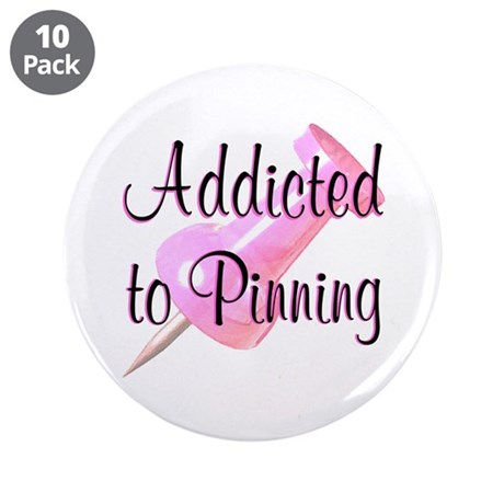 """HAVE FUN PINNING 3.5"""" Button (10 pack)"""