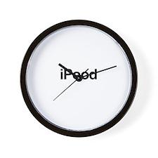 iPood Wall Clock
