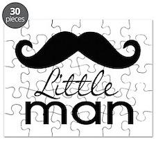Mustache Little Man Puzzle