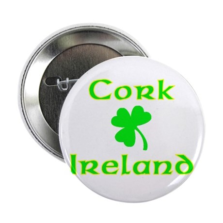"Cork, Ireland 2.25"" Button (100 pack)"
