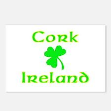 Cork, Ireland Postcards (Package of 8)