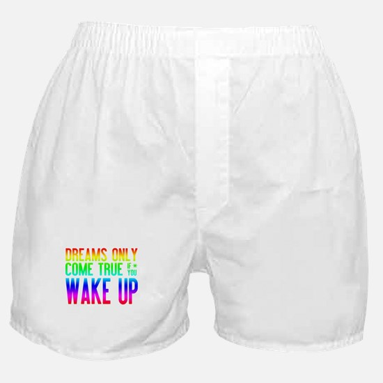 Dreams Come True (rainbow) Boxer Shorts