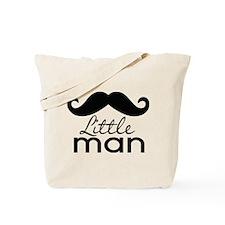 Mustache Little Man Tote Bag