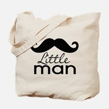 Mustache Little Man Tote Bag