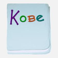 Kobe Play Clay baby blanket