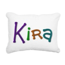 Kira Play Clay Rectangular Canvas Pillow