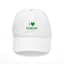 I Love Dublin Baseball Baseball Cap
