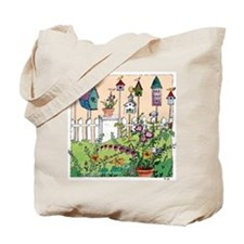 Cynthia Bainton Bird House Garden Tote Bag