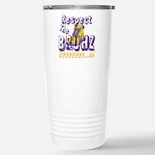 Respect the Bruhz Travel Mug