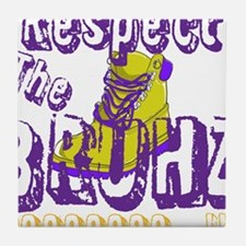 Respect the Bruhz Tile Coaster