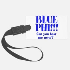 Blue Phi!! Luggage Tag