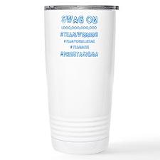 Phi Beta Sigma swag on Travel Mug