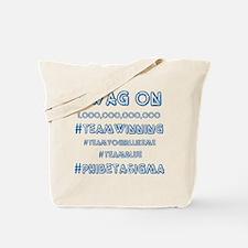 Phi Beta Sigma swag on Tote Bag