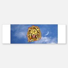 Lion Bumper Bumper Bumper Sticker