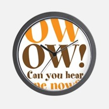OW OW! Wall Clock