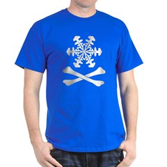 Snow and Crossbones T-Shirt, Color Choices