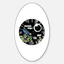 Cute Sued Sticker (Oval)